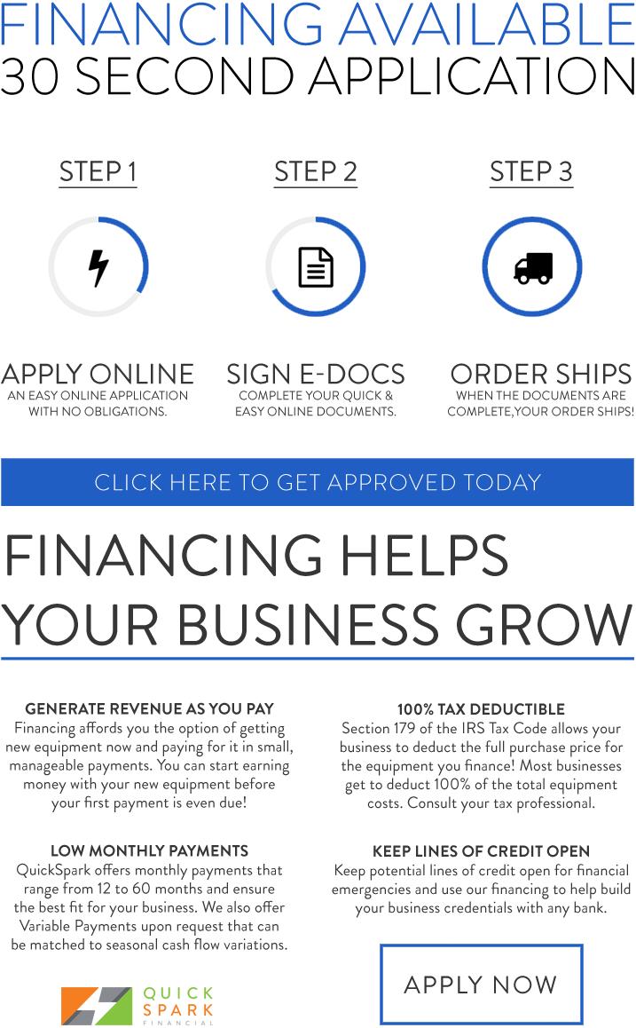 3 step blue black - Financing